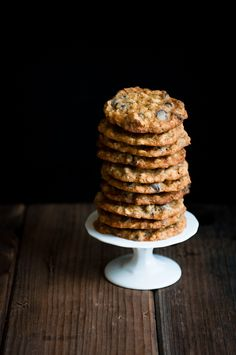 Oatmeal Walnut Chocolate Chip Cookies by Stephanie of Desserts for Breakfast