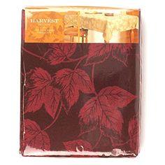 "Harvest Season Woven Leaf Tablecloth,Claret Opp 60""x 120"" Oblong Croft & Barrow http://www.amazon.com/dp/B0155N6YQ0/ref=cm_sw_r_pi_dp_dFX9vb03NKSHJ"