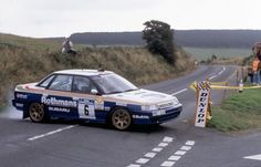 "Subaru Legacy rally car - Group A duncadelicrallying: "" Colin McRae "" Subaru Rally, Rally Car, Subaru Legacy, Sport Cars, Race Cars, Rallye Automobile, Fiat 126, Colin Mcrae, Old School Cars"