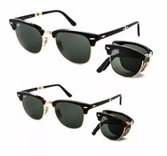 d763752bf0 ... reduced encontrá ray ban clubmaster folding originales made in italy  anteojos de sol en mercado libre