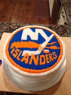 New York Islanders cake