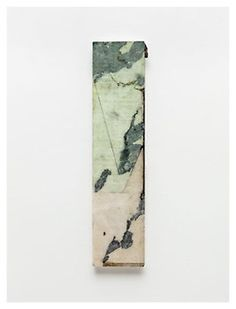 huldrapress:  Brice Marden, Joined, 2011, Oil and graphite on marble 26 3/4 x 6 5/8 inches; 68 x 17 cm Source Harmony Blog