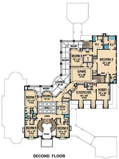 Hotr reader eric revised the floor plans to a 17 000 for 10 bellair floor plans