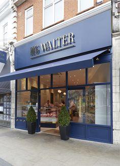 Fachada do Açougue HG Walter em Londres - HG Walter Butcher - Design by Tania Payne Interiors Ltd