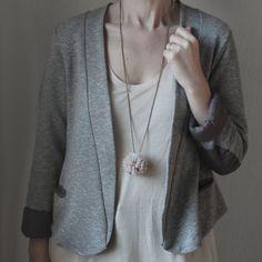 pom pom necklace~