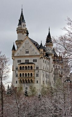 Neuschwanstein Castle - Bavaria - Germany (von scott1346)