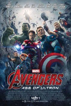 Avengers Age of Ultron - Mini Print