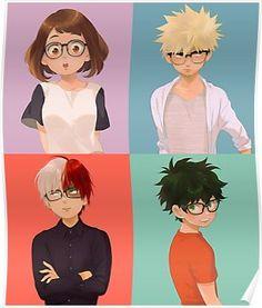 Bakuraka e Tododeku Boku No Hero Academia, Kirishima Eijirou, Manga Anime, Anime Art, Bakugou And Uraraka, Otaku, Fanart, Boko No, The Villain
