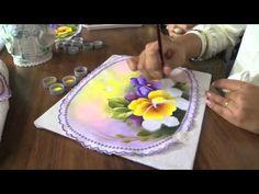 Mulher.com 10/07/2013 Ana Laura Rodrigues - Pintura em tecido Parte 2/2 - YouTube
