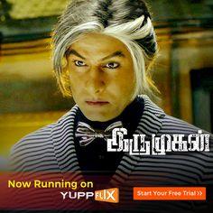 Watch #ChiyaanVikram's blockbuster sci-fi movie #Irumugan now on #YuppFlix