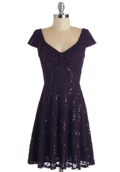 Cask Party Dress in Mulberry. Tonight, your family is breaking open some vintage barrels of wine - and you're wearing this deep-purple dress for the occasion! #purple #modcloth