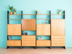velvet point 1960s whb shelving system karlsruhe vintage beauties pinterest. Black Bedroom Furniture Sets. Home Design Ideas