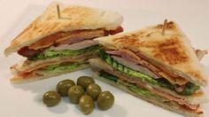Recetas Para Tres: Sándwich Club de Pollo y Bacon #Sándwich