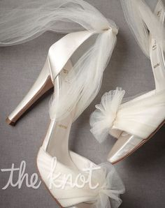 BHLDN Bridal Shoes tulle wedding shoe Going to the Chapel ankle heels White Wedding Shoes, Tulle Wedding, Wedding Heels, Bhldn Wedding, Ribbon Wedding, Stilettos, High Heels, Pumps, Ballet Shoes