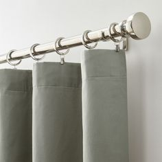 Taylor Grey Curtain Panel - Crate and Barrel Brown Curtains, Burlap Curtains, Panel Curtains, Hanging Curtain Rods, Window Coverings, Crate And Barrel, Crates, Living Spaces, Furniture