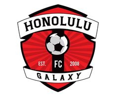 custom soccer logo design for the honolulu galaxy by jordan fretz design Basketball Logo Design, Soccer Logo, Basketball Teams, Football Team, Hockey Logos, Sports Team Logos, Case Study Template, Club, Juventus Logo