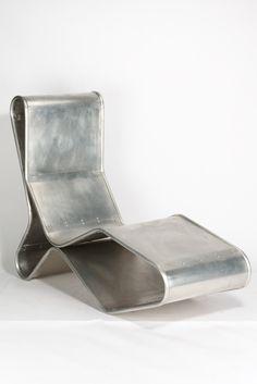 Tom Dixon, Liege 1993 Unikat aus Aluminium