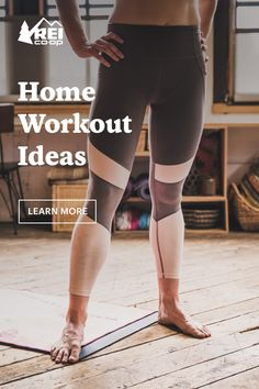 Keep yourself in good health mentally and physically by creating your own fitness practice at home. Learn our tips on how to create your regime at the REI Co-op Journal. Fitness Plan, Workout Rooms, At Home Workouts, Exercises, Hiking, Indoor, Camping, Journal, How To Plan