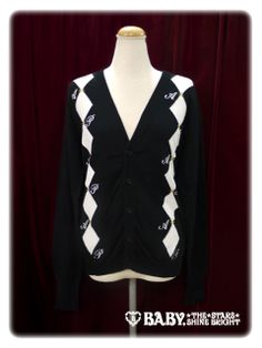 Alice and the Pirates Diamonds patterned cardigan