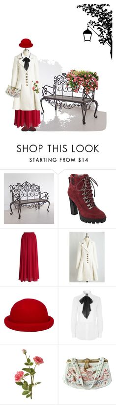 """""""Vintage  Thoughts"""" by petalp ❤ liked on Polyvore featuring Nine West, Chicwish, Polo Ralph Lauren, OKA, Josef Seibel, Tara Jarmon and vintage"""