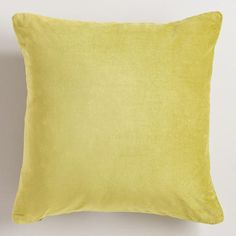 One of my favorite discoveries at WorldMarket.com: Oasis Cotton Velvet Throw Pillows