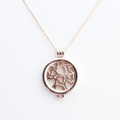 Rose Gold Coin Locket with our Hearts Coin inside. $12 for the necklace and $4 for the Coin. #yse  Why wear what others create when you can create what you love to wear.