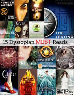 Housewife Eclectic: 15 Dystopian Must Reads