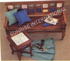 SUNRISE INTERNATIONAL - Wooden Benches