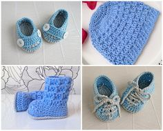 4 CROCHET PATTERNS special offer for a baby boy by elifinedesigns