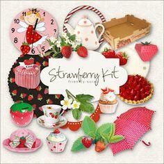 New Freebies Kit from Friendly Scrap - Strawberry:Far Far Hill - Free database…