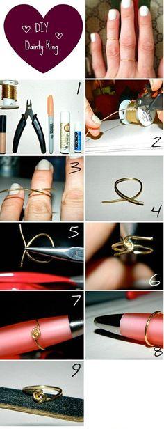 DIY: midi rings