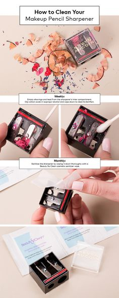 Spring Cleaning: How to Sanitize Your Makeup Pencil Sharpener | Beautylishw
