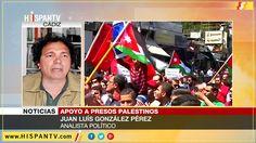 Huelga de hambre de reos palestinos llama atención internacional