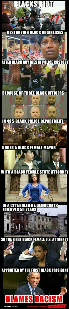 HAHAHAHA So true! It was the cracker even though the entire city is run by majority of Blacks! INSANE!!!