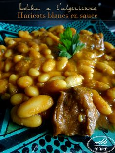 Je vous présente aujourd'hui ma recette de la loubiya en sauce,qui signifie en arabe haricots blancs, une recette réconfortante pendant l'hiver. Accompagnée d'un bon pain maison,…