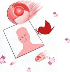 """By nigna93 - """"Privacy sotto attacco""""  - Contest Cover per """"La tua Reputazione su Google e i Social Media"""""""