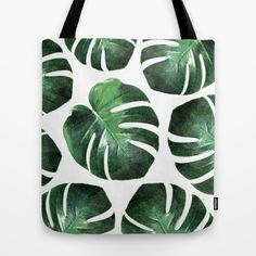 MONSTERA TROPIC Tote Bag Monstera pattern tropic totebag #monstera #tropic #monsteratotebag #totebag #art #pattern #trend #monsteradeliciosa #botanic #botanicart #botanicdecor #botanictrend