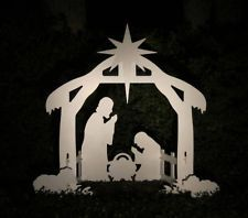 Christmas Outdoor Nativity Scene - Yard Nativity Set