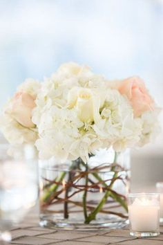 Simple Wedding Centerpieces