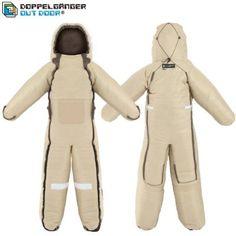 DOPPELGANGER OUTDOOR (ドッペルギャンガーアウトドア) ヒューマノイドスリーピングバッグ 人型寝袋 ver.5.0 DS-01B Andy [最低使用温度 5度]:Amazon.co.jp:スポーツ&アウトドア