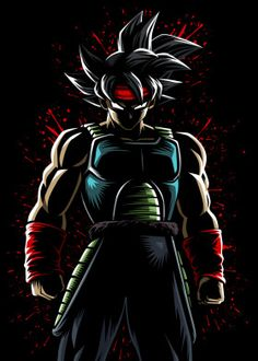 Bardock (バーダック, Bādakku) is a low-class Saiyan warrior, the husband of Gine, and the father of Raditz and Goku. He makes his debut as the titular protagonist of the 1990 TV special Dragon Ball Z: Bardock - The Father of Goku. Dragon Ball Z, Dragonball Anime, Naruto, Goku Wallpaper, Super Anime, Goku Super, Art Graphique, Good Good Father, Animes Wallpapers