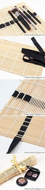 Make up brush holder - Popular DIY & Crafts Pins on Pinterest