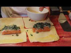 feuilleté de saumon - YouTube