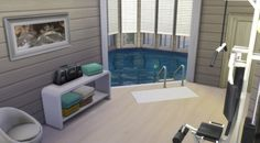 Sims 4 House Plans, Sims 4 House Building, Lotes The Sims 4, Sims 3, Sims Challenge, Muebles Sims 4 Cc, Sims 4 House Design, Casas The Sims 4, Sims 4 Build