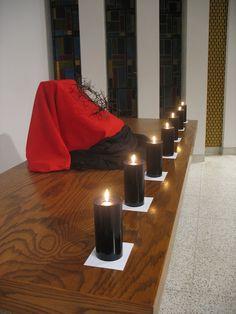 Good Friday Altar Decoration - Jason Christ - Picasa Web Albums