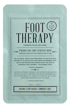 KOCOSTAR Foot Therapy Foot Exfoliation Wrap available at #Nordstrom