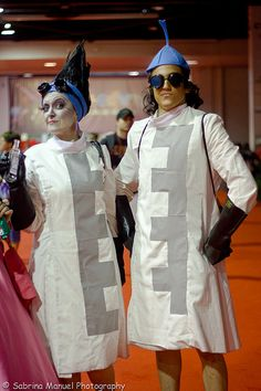 Yzma and Kronk-- #HalloweenCostumesForAdults