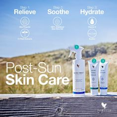 Aloe First® Spray | This exclusive skin soothing formula is an excellent first step for soothing minor skin irritations. The combination of aloe and herbs provide a naturally soothing, pH-balanced spray that is easy to apply to even sensitive skin. Aloe First® is designed to soothe the skin after minor cuts, scrapes, burns, and sunburn.
