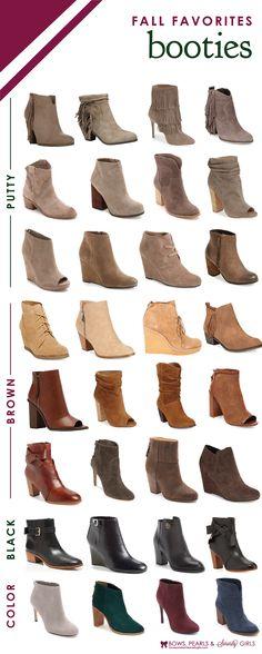 Fall Favorite Booties   Bows, Pearls & Sorority Girls