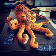 The votes are in! Our Deep Water Doodle Off winner is @jessibird91 for her ink-redible octopus Doodle!  Congratulations @jessibird91 you win 5 packs of your choice of plastics and a JetPack! We'll be touch soon! Want in on the chance to win? Stay tuned! Our next Doodle Off will be announced on Friday! #3Doodler #WhatWillYouCreate #3DoodleOff #Winner